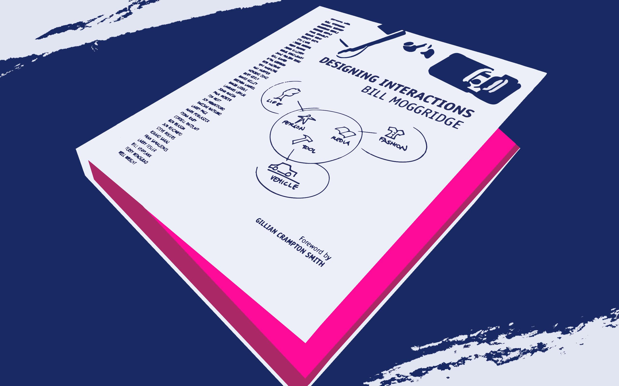 <strong>Dominik's Buchtipp aus der Eyekon-Bibliothek:</strong> Designing Interactions – Origin of Interaction Design