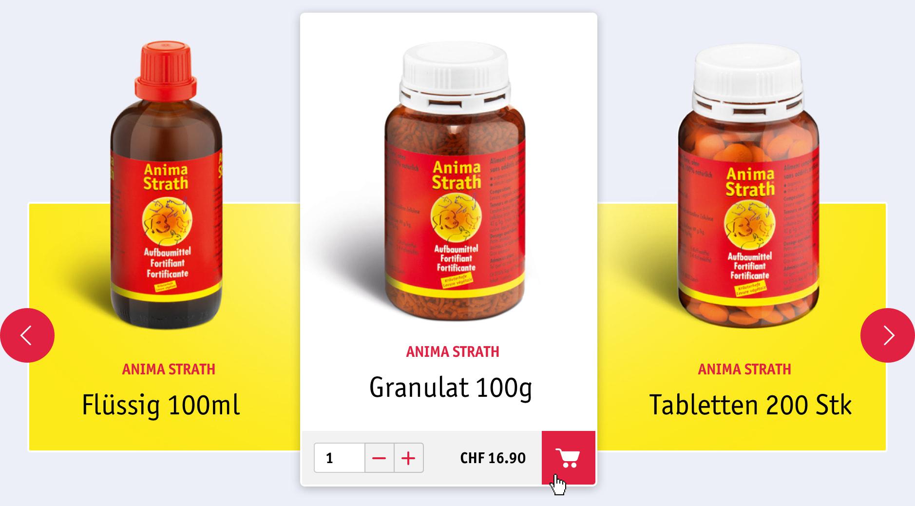 Anima-Strath E-Commerce