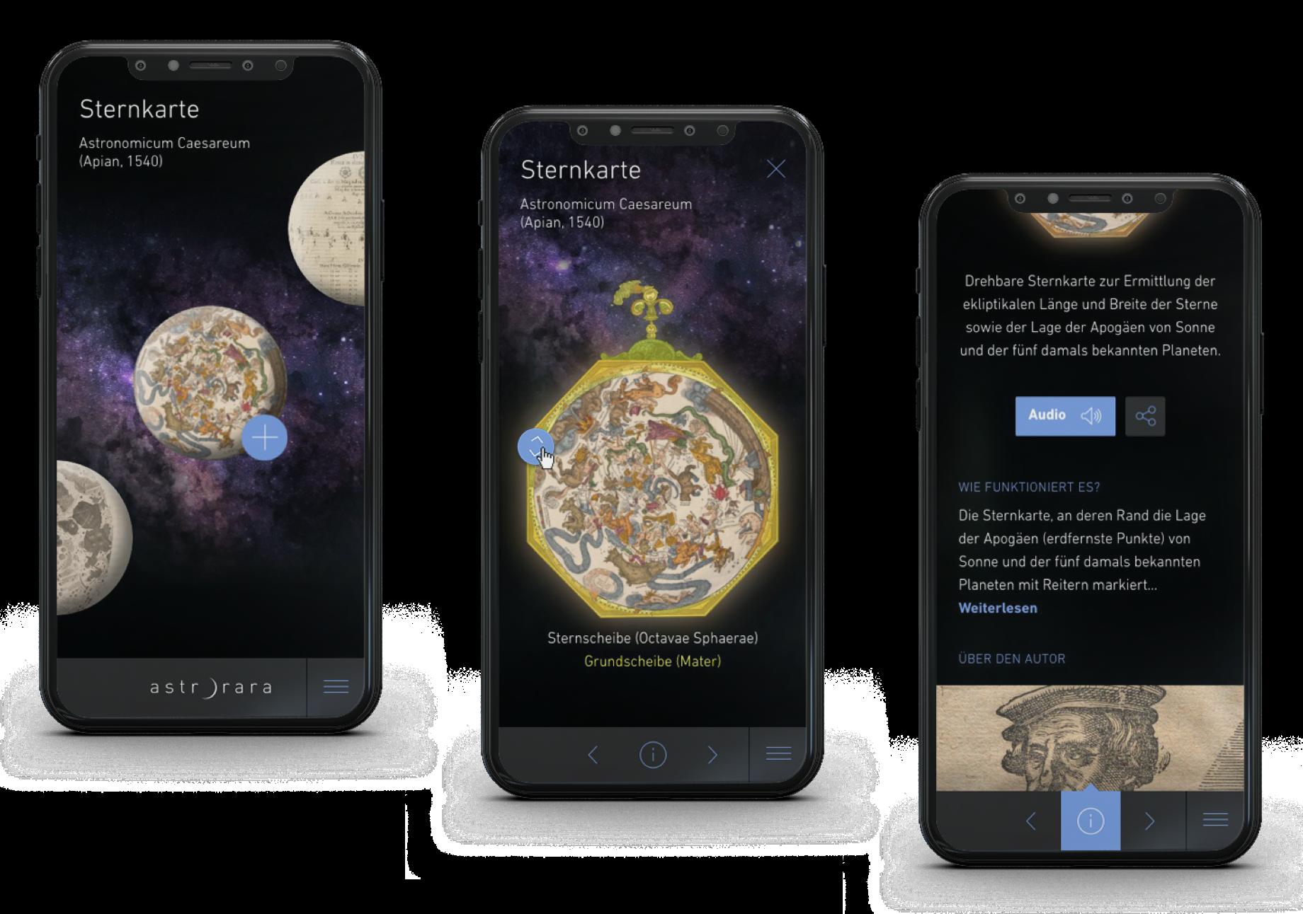Case AstroRara Mobile Screens
