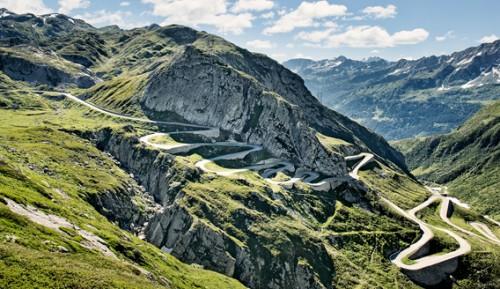Webspecial für die Grand Tour of Switzerland