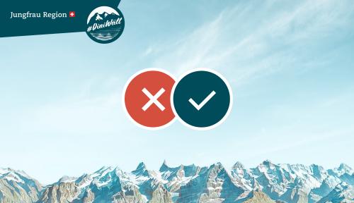 Entdecker-Kampagne für die Jungfrau Region